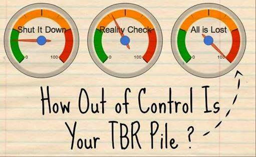 How Out of Control Is Your TBR Pile