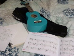 Friday 05-02-16. Got the ukulele out.