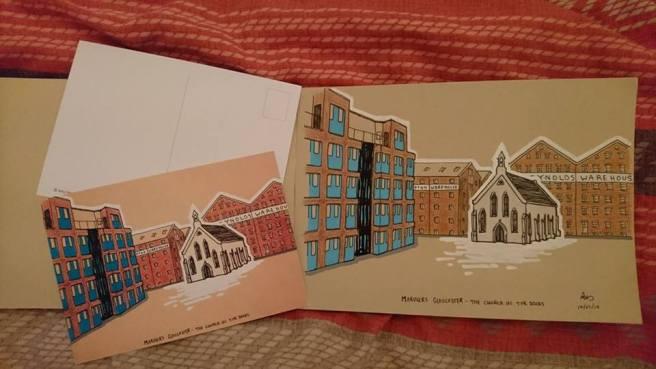 mariners postcard