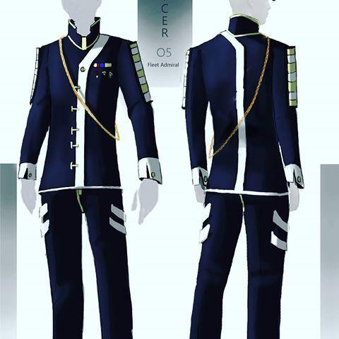 fantasy uniform